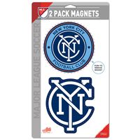"Picture of New York City FC 2 Pack Magnets 5"" x 9"""