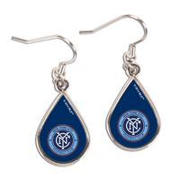 Picture of New York City FC Earrings Jewelry Carded Tear Drop