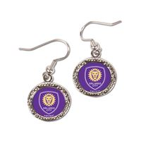 Picture of Orlando City SC Earrings Jewelry Carded Round