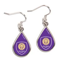 Picture of Orlando City SC Earrings Jewelry Carded Tear Drop