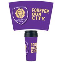 Picture of Orlando City SC Travel Mug Contour 16 oz