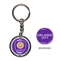 Picture of Orlando City SC Spinner Key Ring