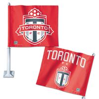 "Picture of Toronto FC Car Flag 1175"" x 14"""