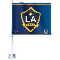 """Picture of Los Angeles Galaxy Car Flag 1175"""" x 14"""""""
