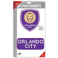 """Picture of Orlando City SC 2 Pack Magnets 5"""" x 9"""""""