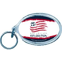 Picture of New England Revolution Acrylic Key Ring Carded Oval