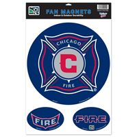 "Picture of Chicago Fire Car/Fan Magnet 115"" x 17"""
