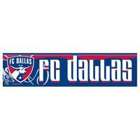 """Picture of FC Dallas Bumper Strip 3"""" x 12"""""""