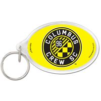 Picture of Columbus Crew SC Acrylic Key Ring Carded Oval
