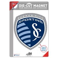 """Picture of Sporting Kansas City Die Cut Logo Magnet 625"""" x 9"""""""