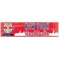 "Picture of New York Red Bulls Bumper Strip 3"" x 12"""
