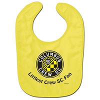 Picture of Columbus Crew SC All Pro Baby Bib