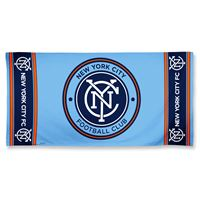 "Picture of New York City FC Fiber Beach Towel 9lb 30"" x 60"""