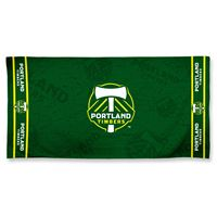 "Picture of Portland Timbers Fiber Beach Towel 9lb 30"" x 60"""