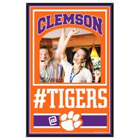 Picture of Clemson University Mirror Wood Sign