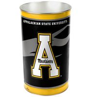 "Picture of Appalachian State University Wastebasket - tapered 15""H"