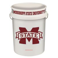 Picture of Mississippi State University Plastic Pails 5 Gallon