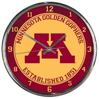 Picture of Minnesota, University of Chrome Clock