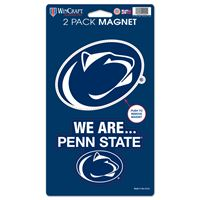 "Picture of Penn State University 2 Pack Magnets 5"" x 9"""