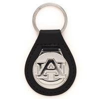 Picture of Auburn University Leather Key Ring