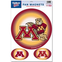 "Picture of Minnesota, University of Car/Fan Magnet 115"" x 17"""