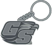 Picture of Georgia Southern University Cast Key Ring Carded
