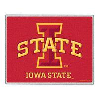 "Picture of Iowa State University Glass Cutting Board 7"" x 9"""