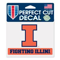 Picture for category Perfect Cut Color Decal FIGHTING ILLINI