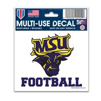 "Picture of Minnesota State Mankato Multi-Use Decal 3"" x 4"""