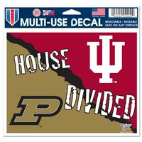 "Picture of Indiana University^Purdue University Multi-Use Colored Decal 5"" x 6"""