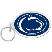 Picture of Penn State University Acrylic Key Ring Carded Oval